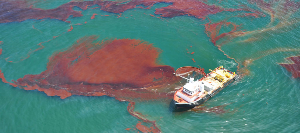 Bioremediasi oil spill